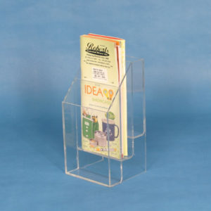 3 Slot Literature Rack