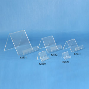 Flat Bottom Acrylic Easels