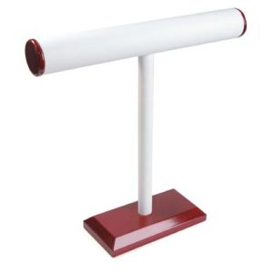 T-Bars (Rosewood Trim W/White Faux Leatherette)